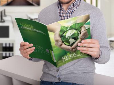 طراحی کاتالوگ محصولات ارگانیک