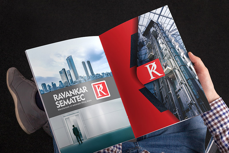 طراحی کاتالوگ آسانسور