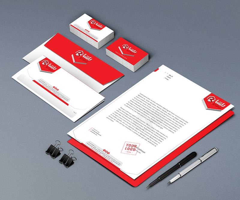 5 - طراحی ست اداری