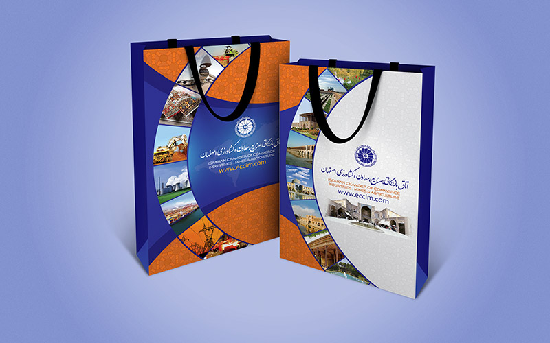 Bag 1 - طراحی ساک تبلیغاتی