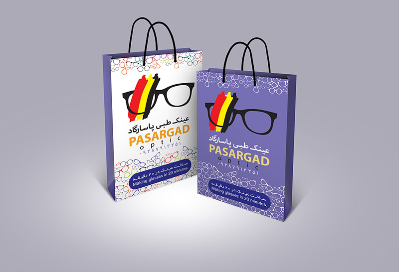 Bag - طراحی ساک تبلیغاتی