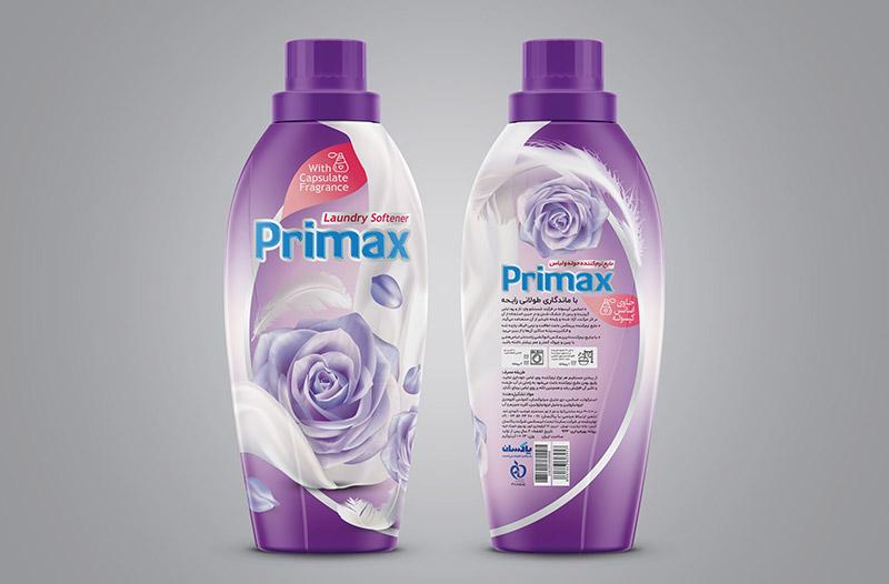 Primax Violet - طراحی بسته بندی