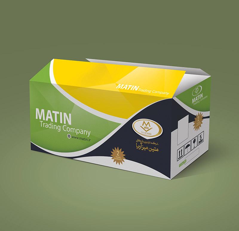matin - طراحی بسته بندی