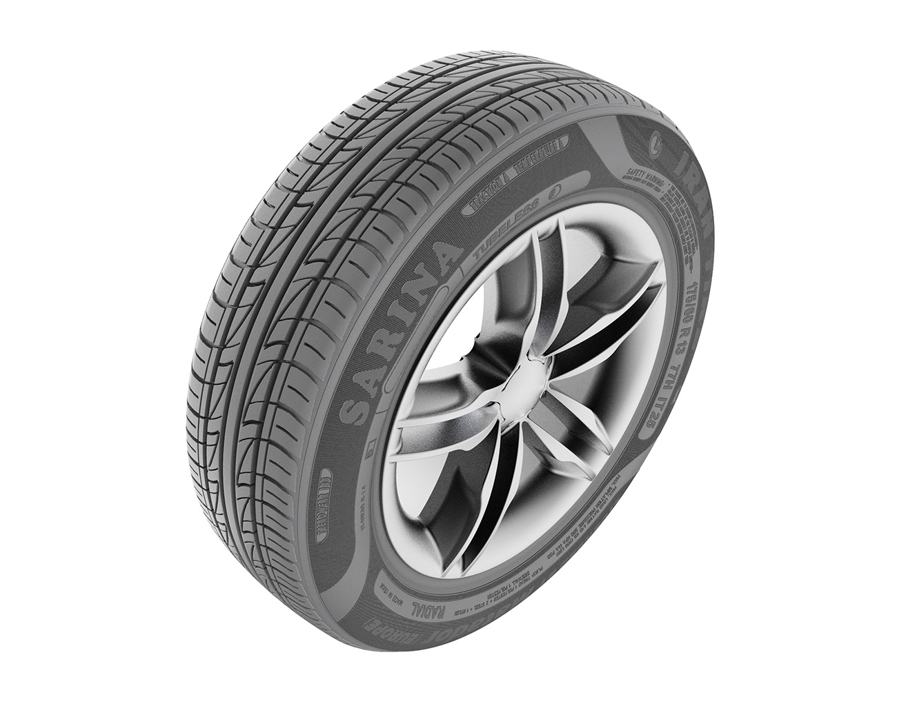 Tire2 - رندر صنعتی سه بعدی