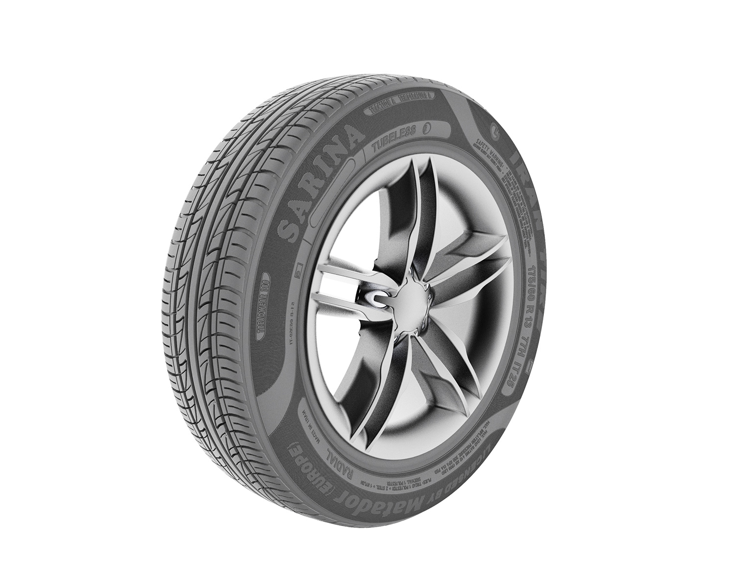 Tire3 - رندر صنعتی سه بعدی
